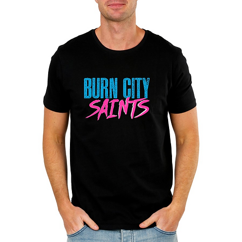 Men's T-shirt - 'Neon City'