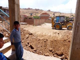 Start bouw 2 klaslokalen in Kasa Huasa!