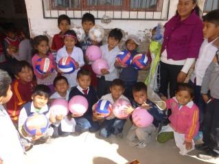 Volleybalnetten voor Kasa Huasa