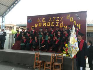 Diploma uitreiking 2014