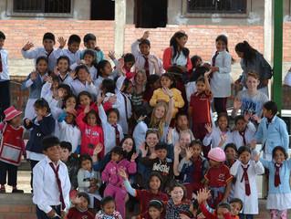 Bezoek Jacob Roeland College aan Bolivia