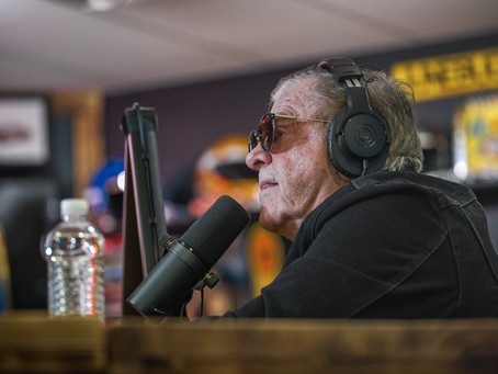No Matter In Football or Racing, Jerry Glanville Is A Treasure