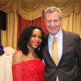 Mayor of New York Bill De Blasio