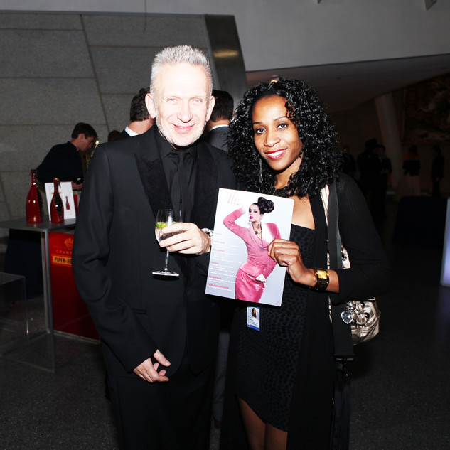 French Fashion designer Jean Paul Gaultier