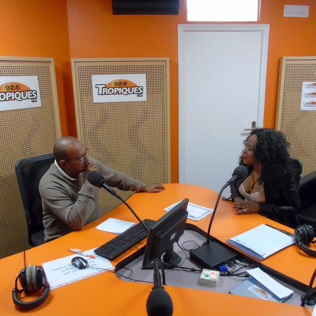 Interview Tropique FM Paris