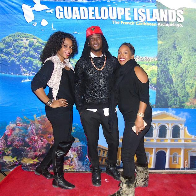 With caraibbean artist Amiral T