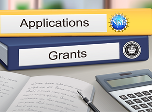 NSF and UH application and grants binder