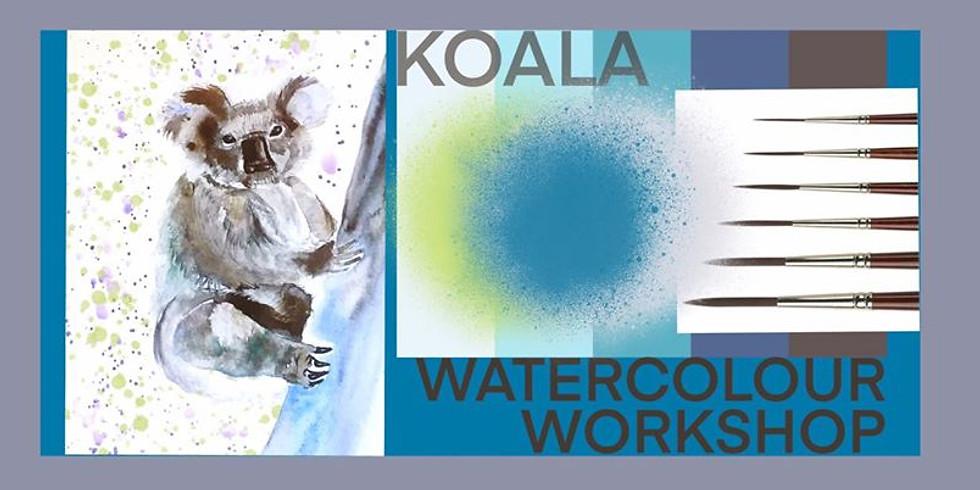 Koala - Watercolour Workshop (1)