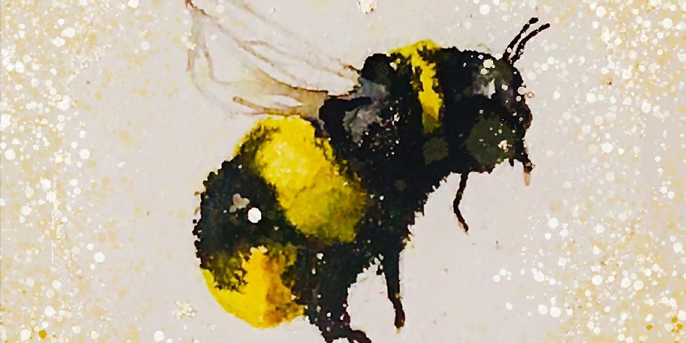 Bee Painting Workshop for Breast Cancer Now