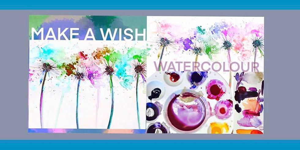 Make A Wish - Watercolour Workshop