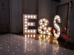 KMS Hire Lights at Gosfield Hall