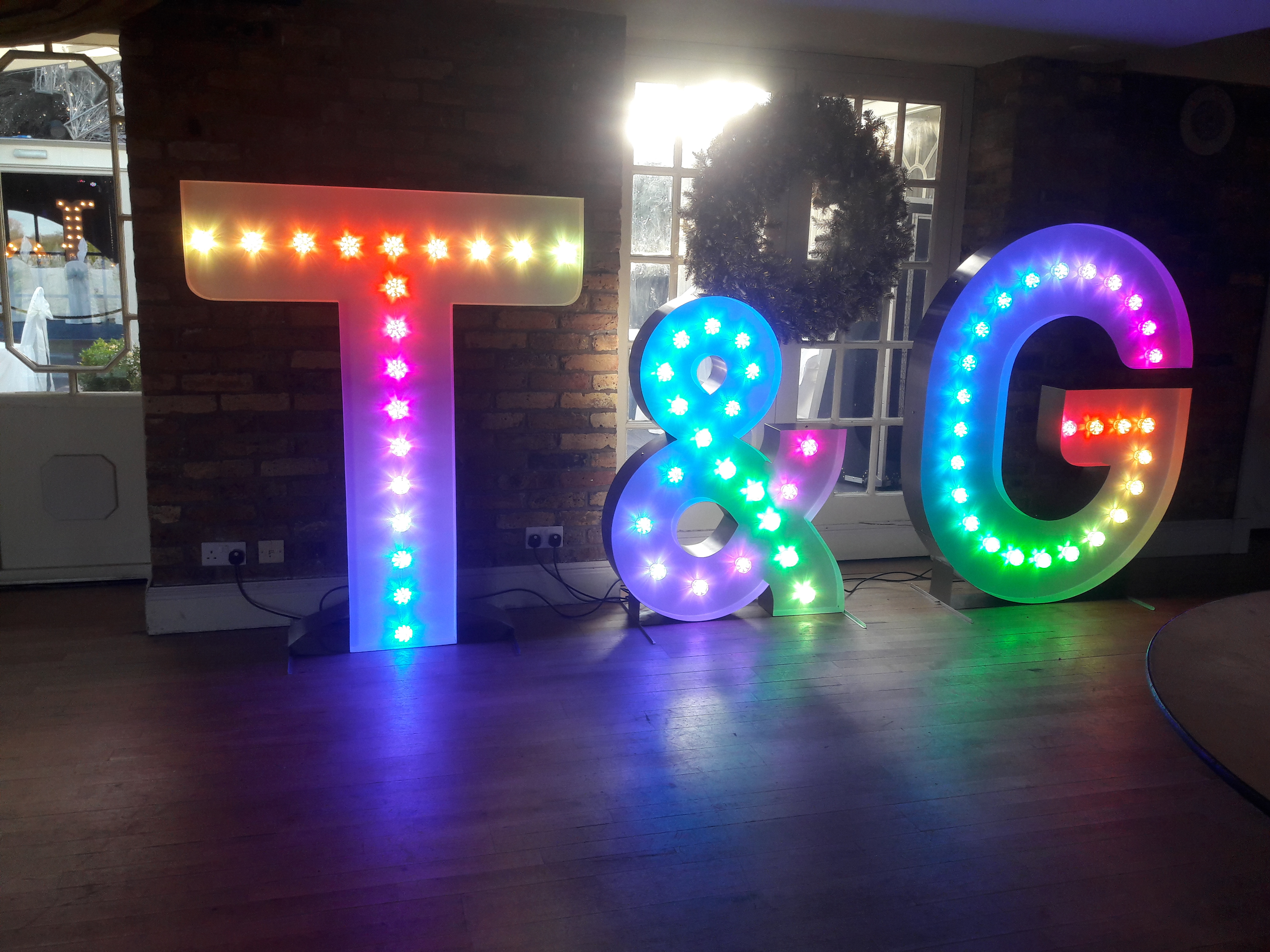 KMS Hire 5ft Letters at Friern Manor