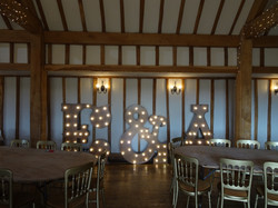 KMS Hire Initial Lights Vaulty Manor