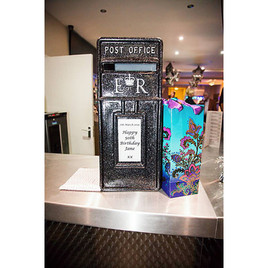 KMS Hire - Essex birthday party card post box hire