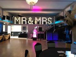 KMS Hire's 4ft MR & MRS lights