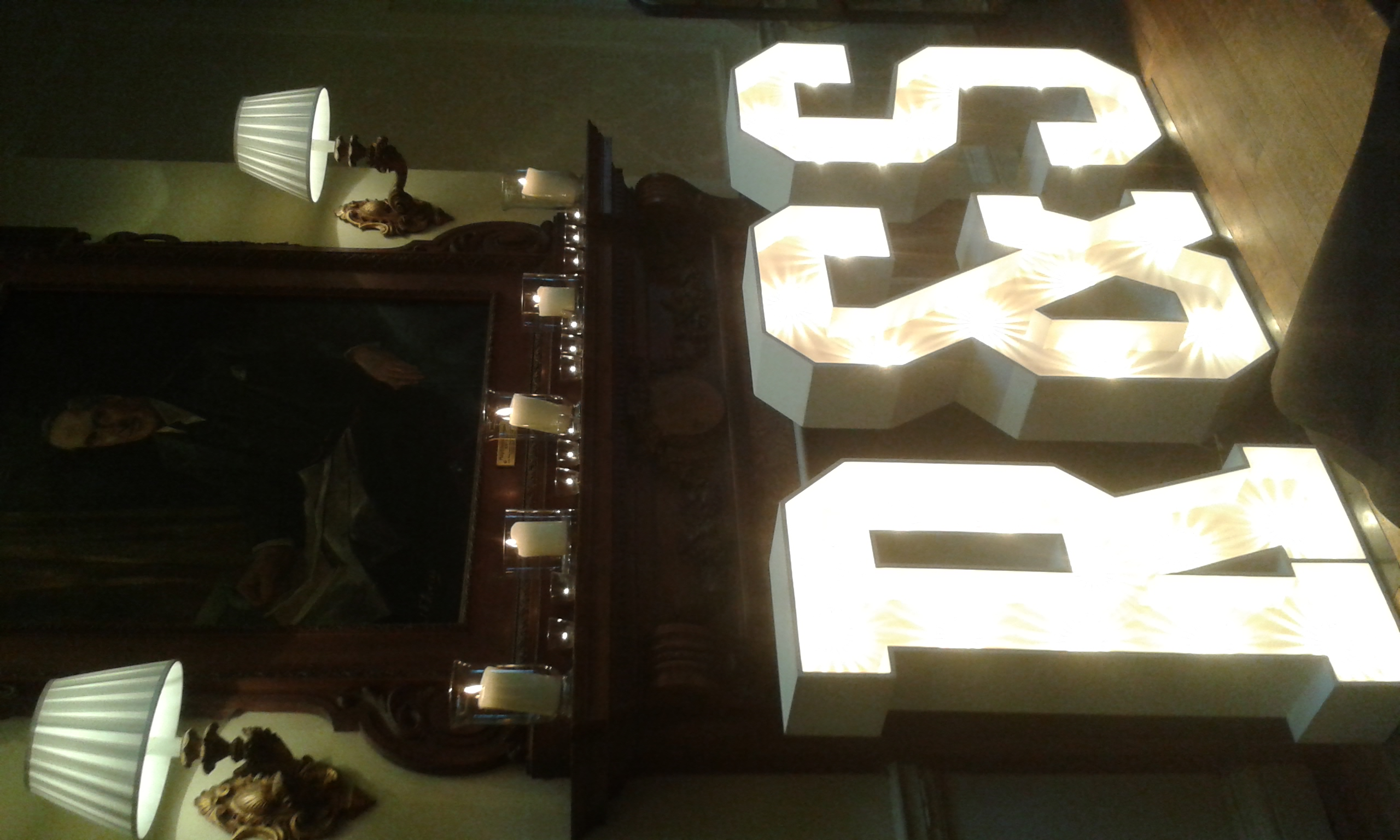 Letter light hire Southend on Sea