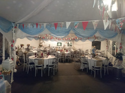 KMS Hire's luxury bunting