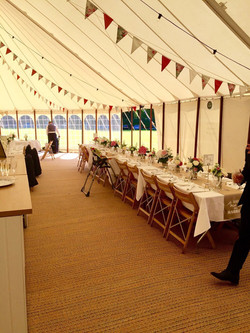 KMS Hire Luxury Bunting for weddings