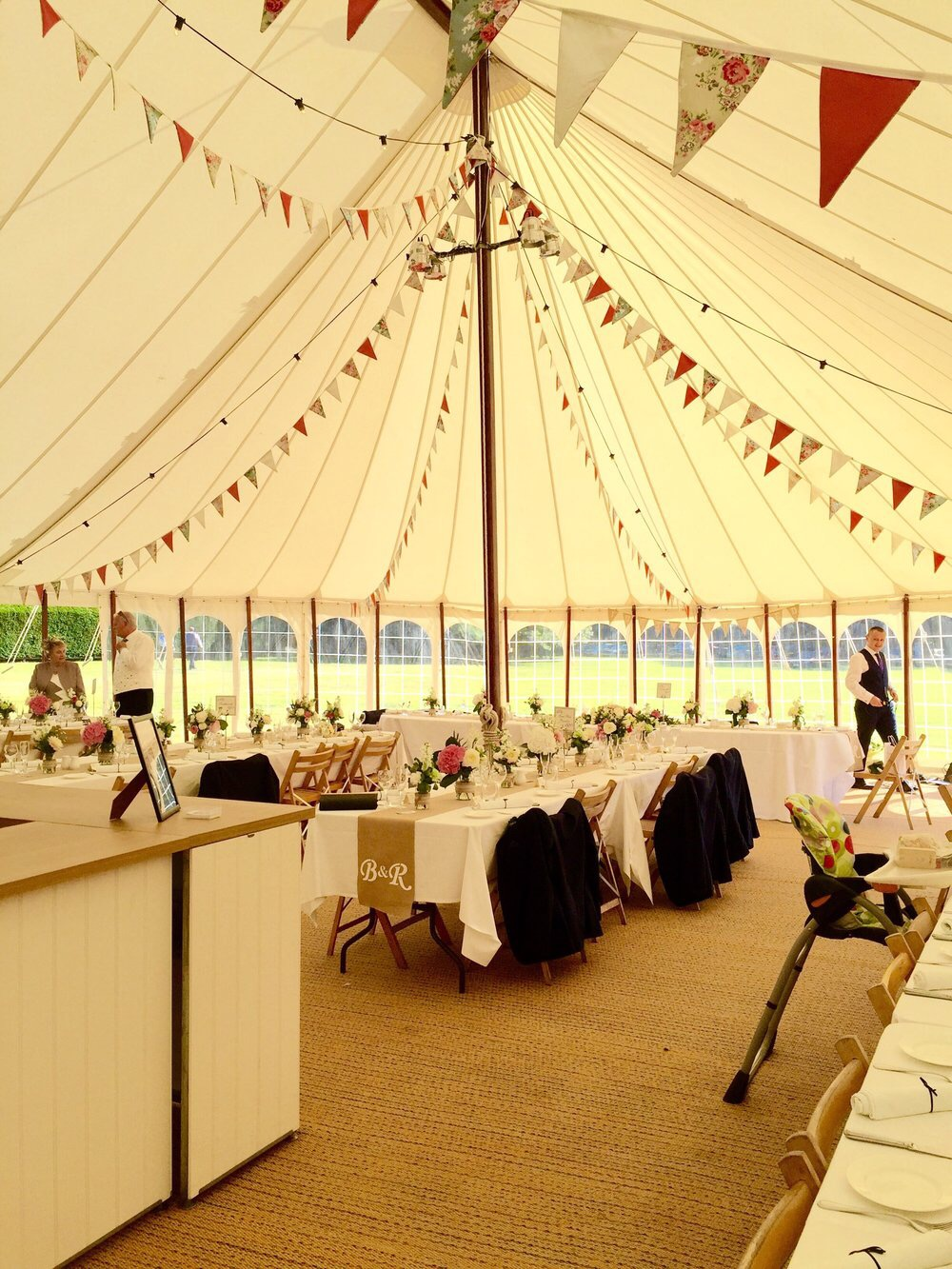 KMS Hire Luxury Floral Bunting