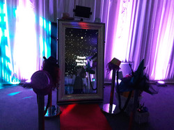 KMS Hire's magic mirror photo booth