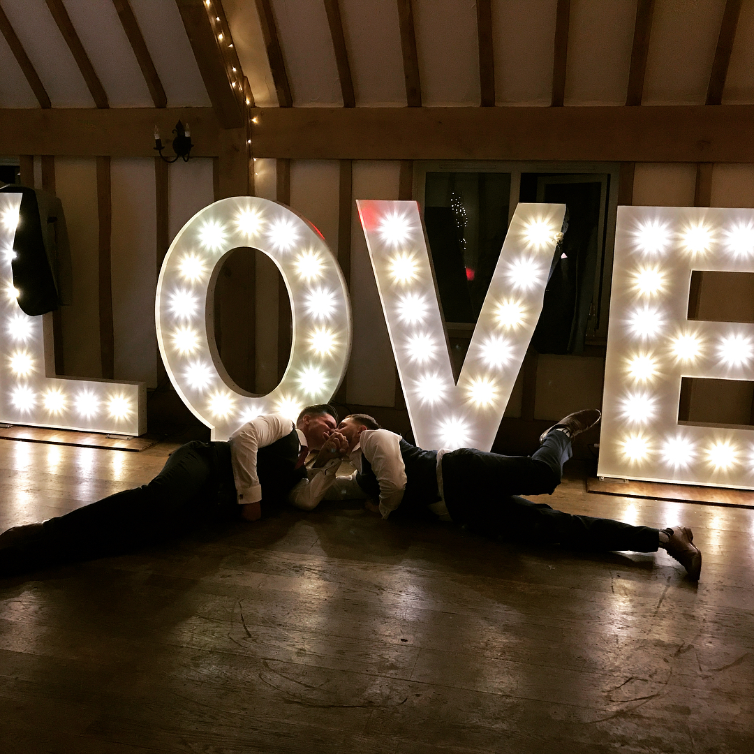 KMS Hire LOVE Lights Vaulty Manor