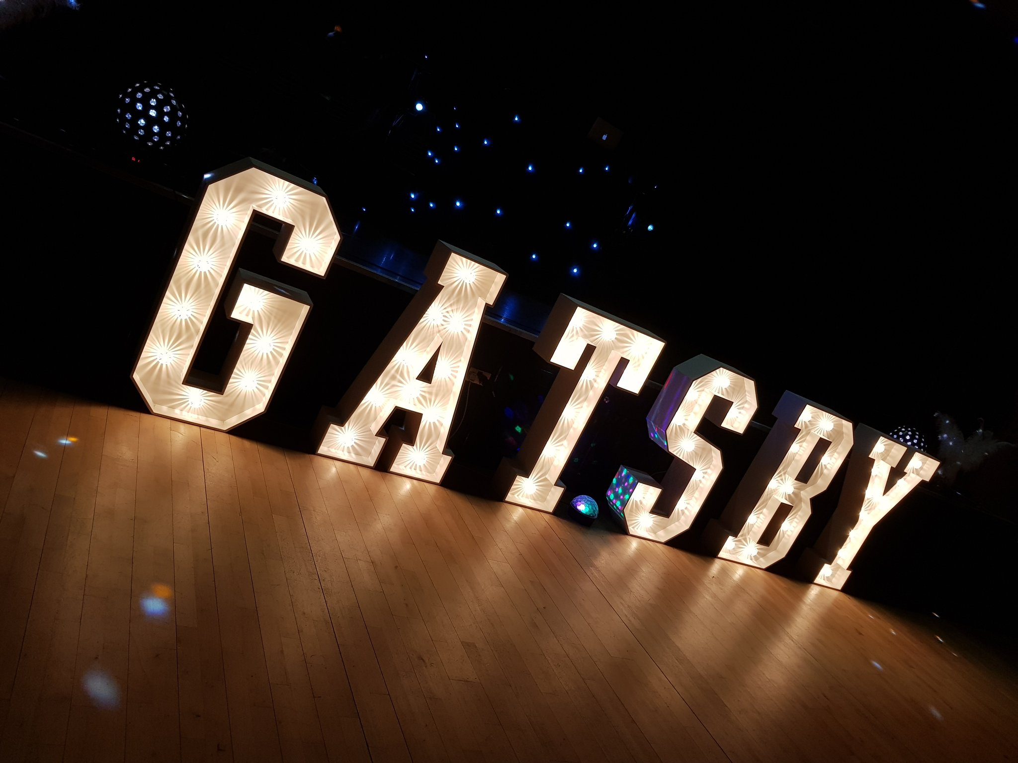 Name in Lights letter hire Essex