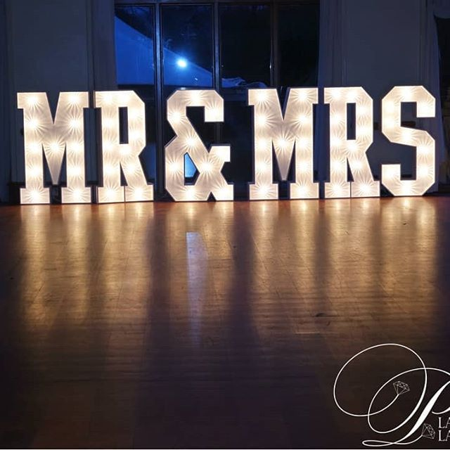 MR & MRS Letter hire Essex