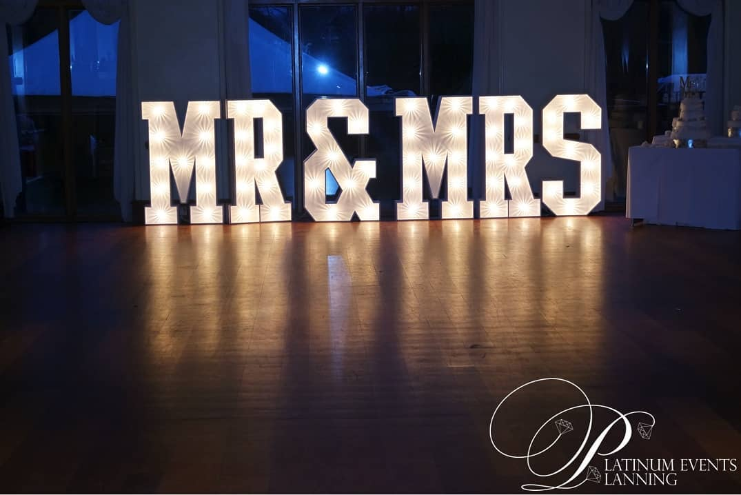 KMS Hire's slimline MR&MRS lights