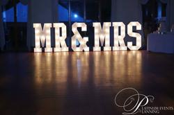 KMS Hire's slimline MR&MRS lights