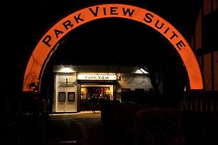 Chalkwell Park Room Park View Suite Southend Essex wedding venue decor hire