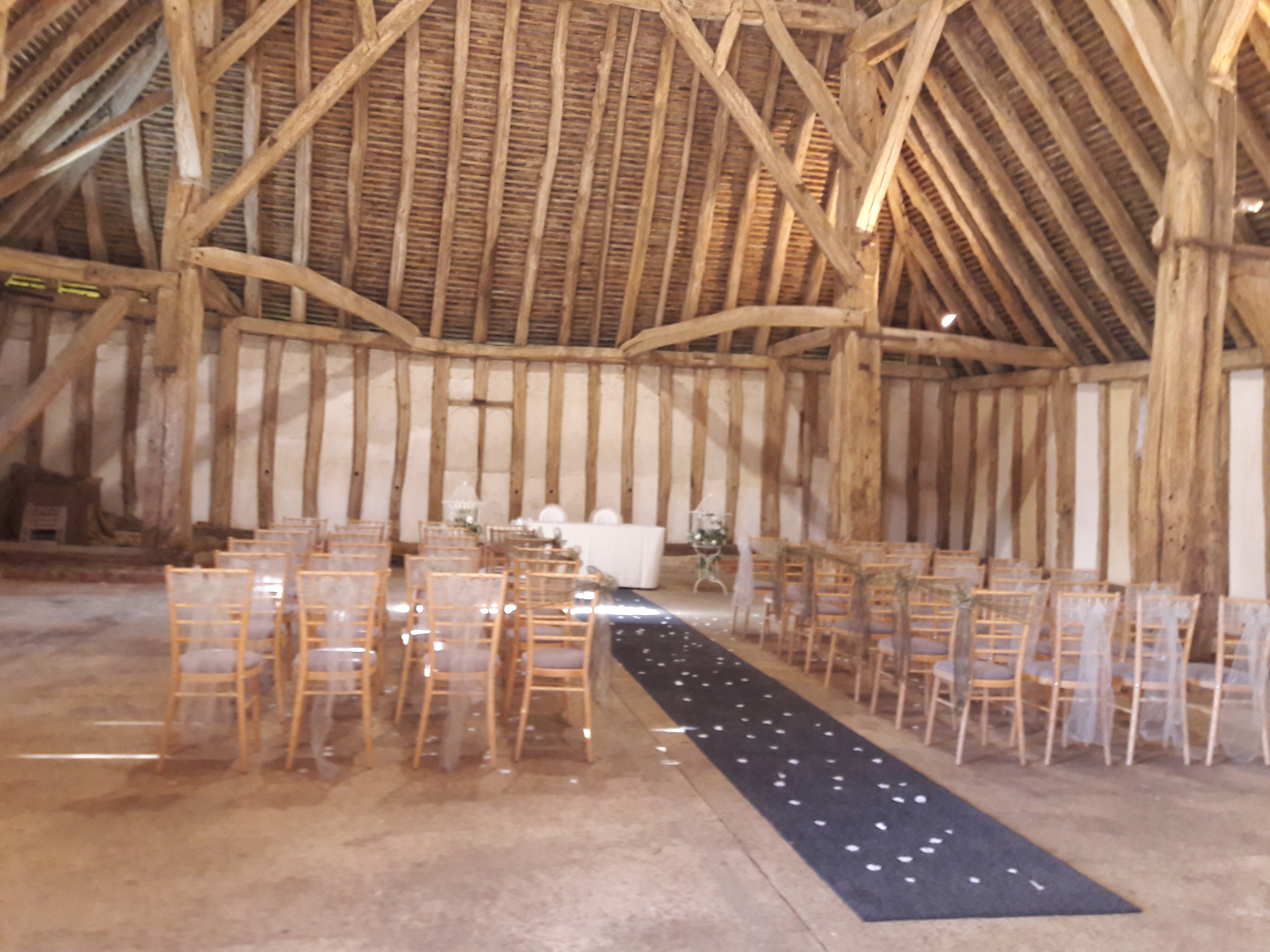 KMS Hire Cressing Temple Barns Essex