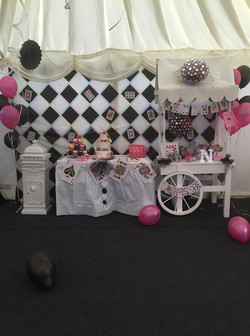 KMS Hire small Candy Cart