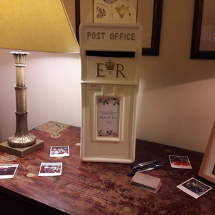 KMS Hire - Surrey wedding card post box for hire
