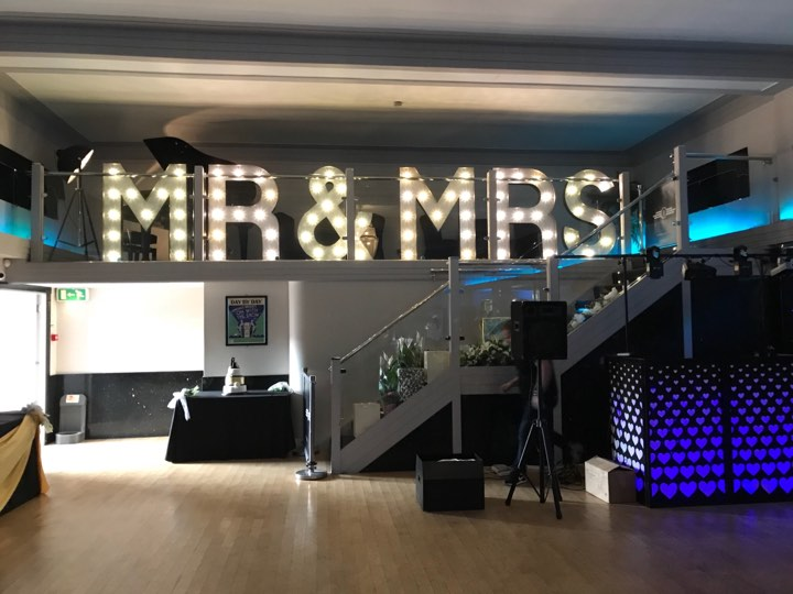 KMS Hire's 4ft MR & MRS lights