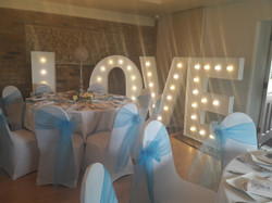 KMS Hire Giant LOVE Friern Manor