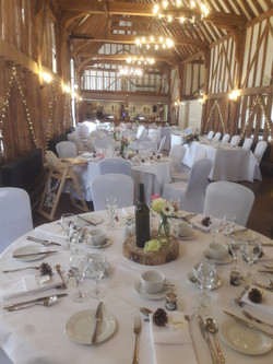 KMS Hire at Channels Estate Weddings