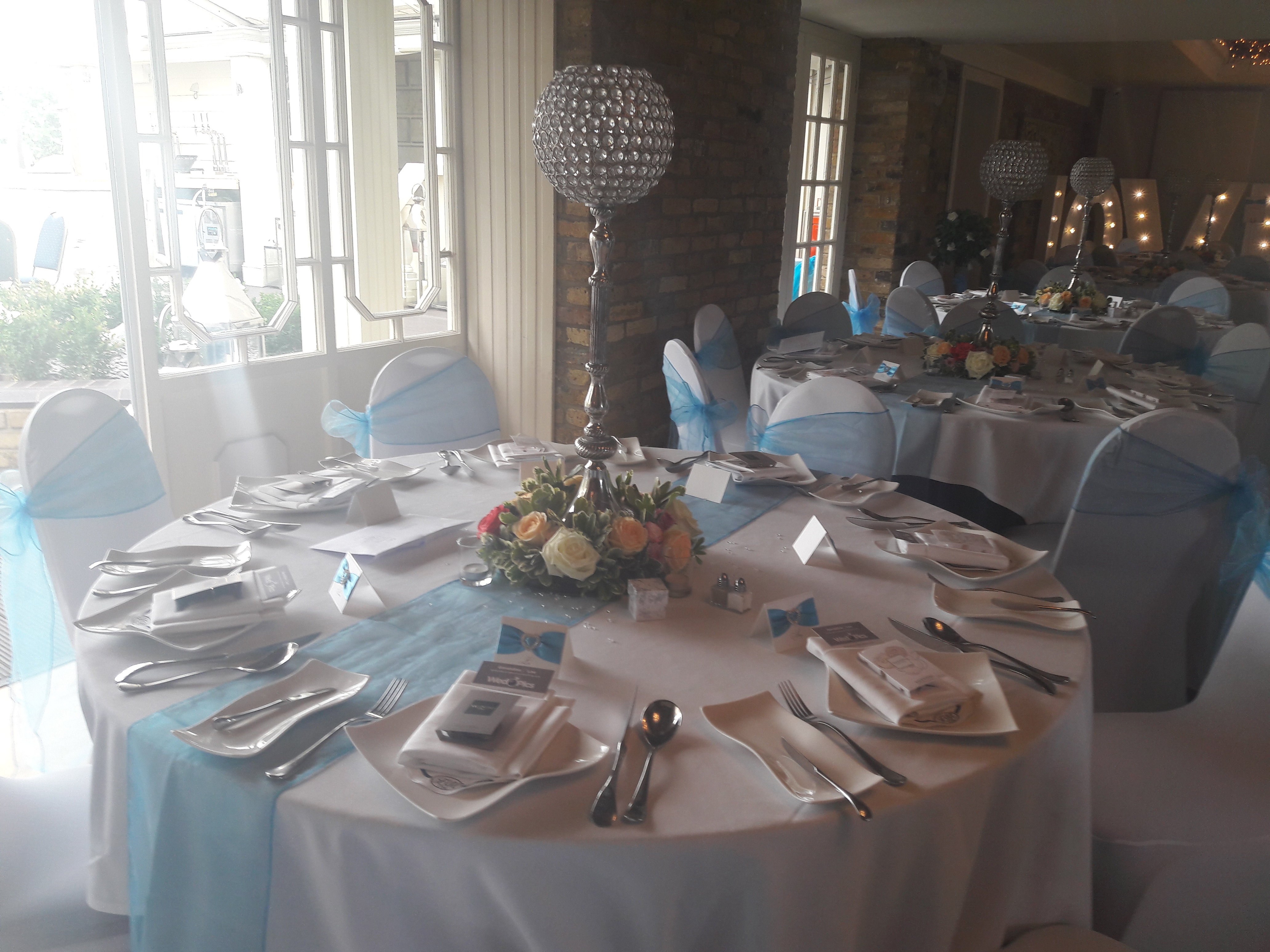 KMS Hire at Friern Manor wedding