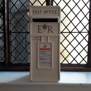 KMS Hire - Suffolk wedding postbox hire