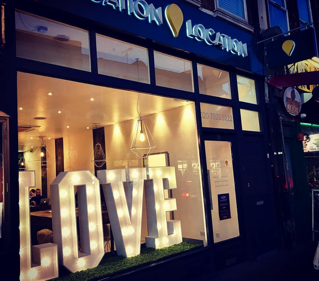 Love Light hire London