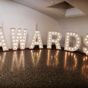 KMS Hire - giant light up letters and numbers for birthdays, parties and events London hire