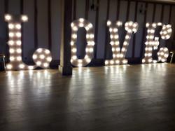 KMS Hire LOVE Lights Vaulty Manor