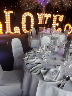KMS Hire 7ft Letters at Friern Manor