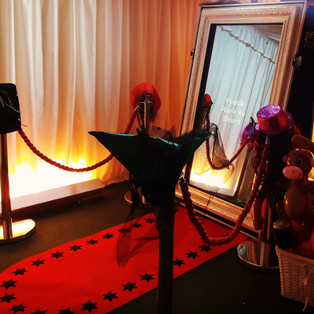 KMS Hire - Suffolk magic mirror photo booth wedding hire