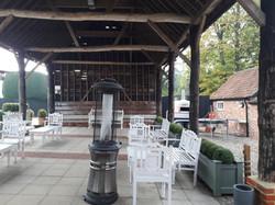 KMS Hire at Gaynes Park Essex