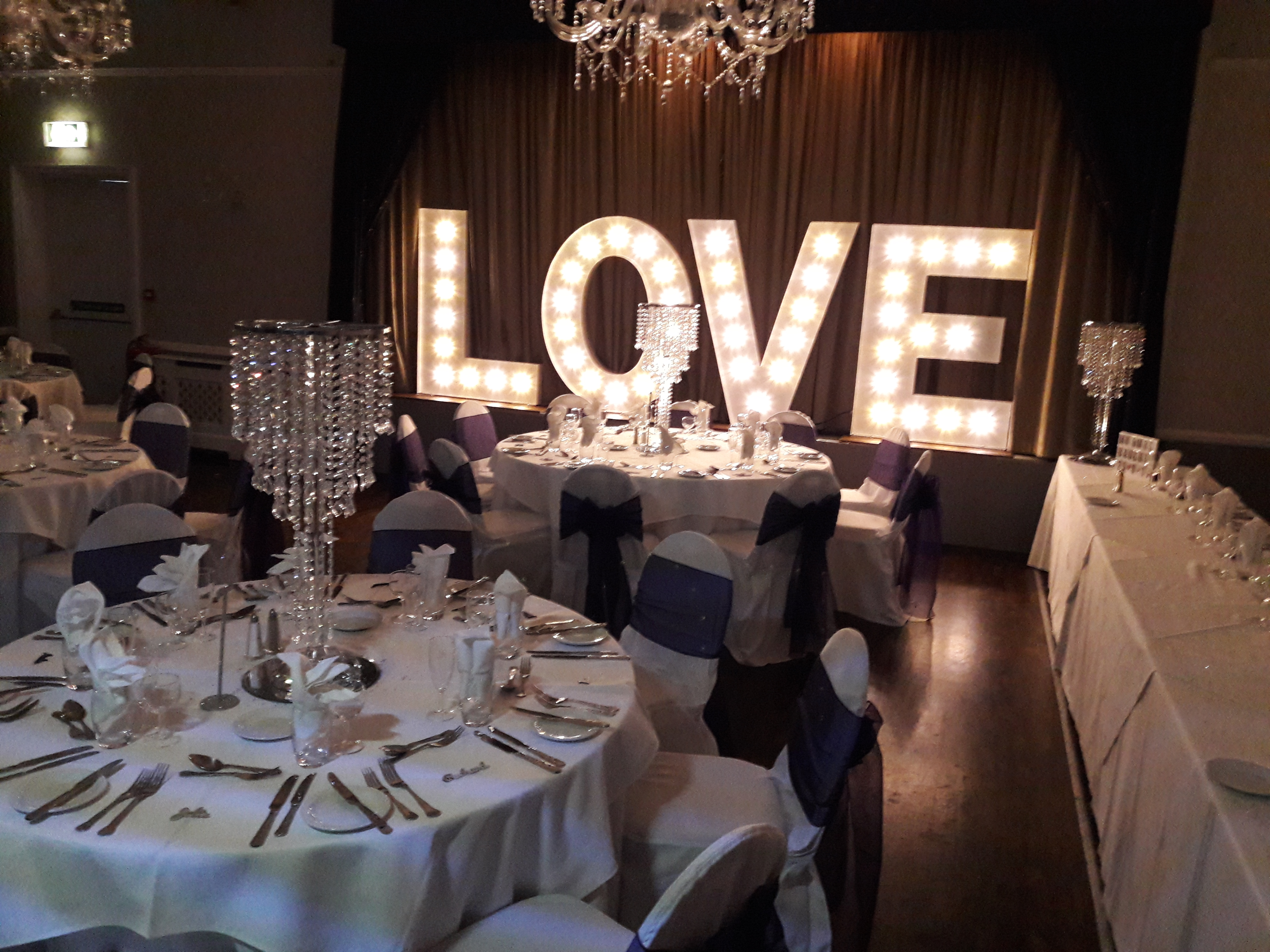 KMS Hire Love Lights Westcliff Hotel