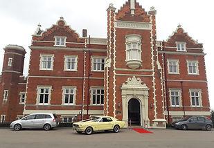 Wivenhoe House Hotel Colchester Essex wedding venue