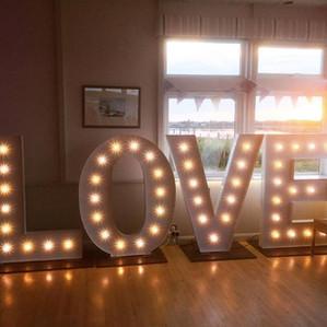 KMS Hire - Essex Love Light Wedding Hire