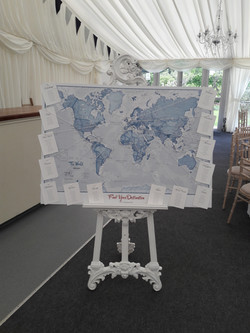 KMS Hire's wedding easel for hire
