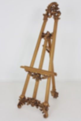 large-ornate-gold-display-easel-wedding-