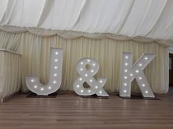 KMS Hire's J&K initial lights